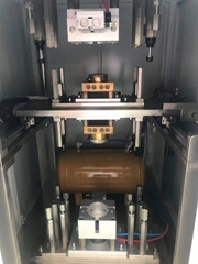 Hot plate machine, hot plate welding machine, plastic hot melt welding machine