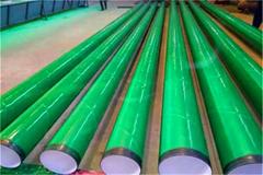 3PE加强级防腐钢管电火花检测防漏点
