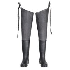 Grey Bootfoot Hip Wader