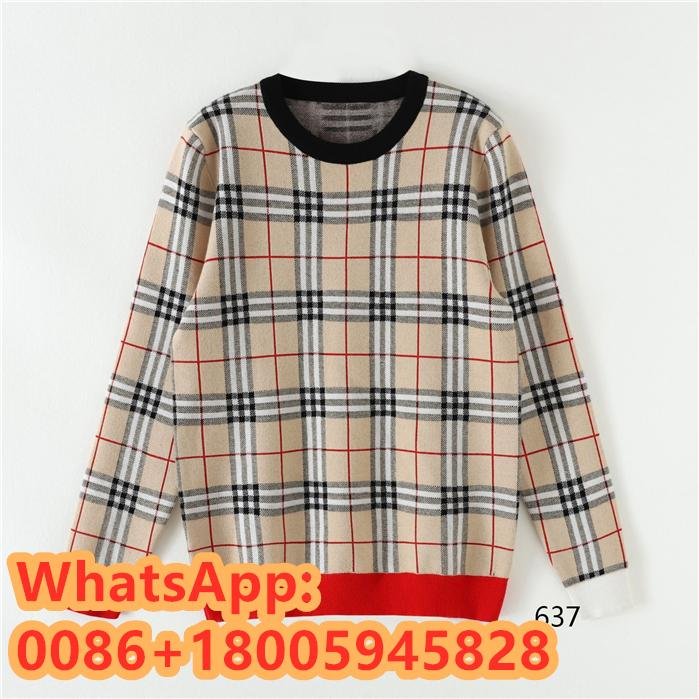 BURBERRY Low neck sweater