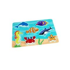 Wooden 3D Ocean Puzzle Toy