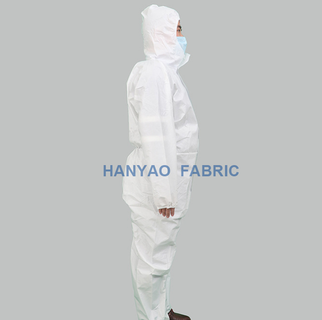 White Disposable Gowns China HanYao 1