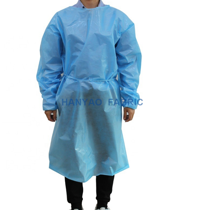 Disposable PP pe Isolation Gowns 1