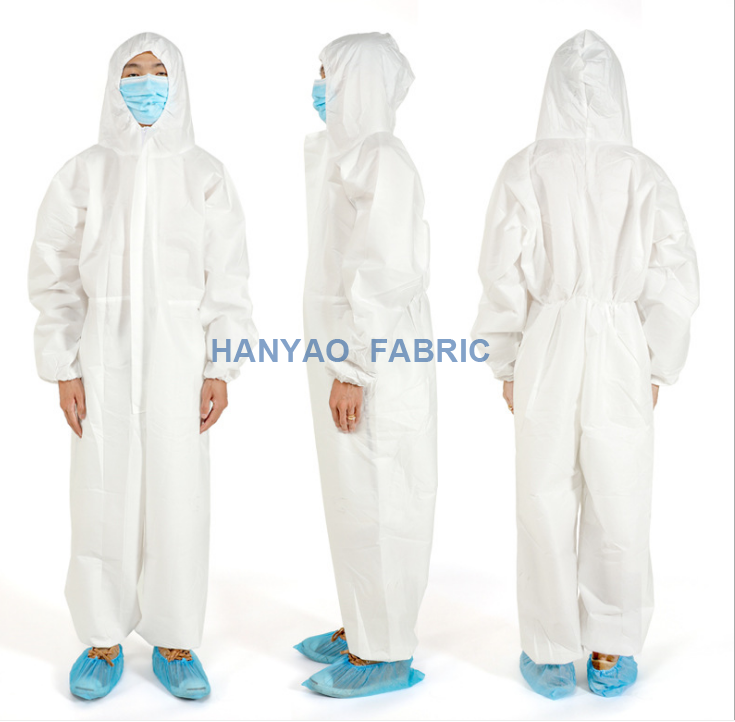 Disposable Safety Protection Coveralls 1