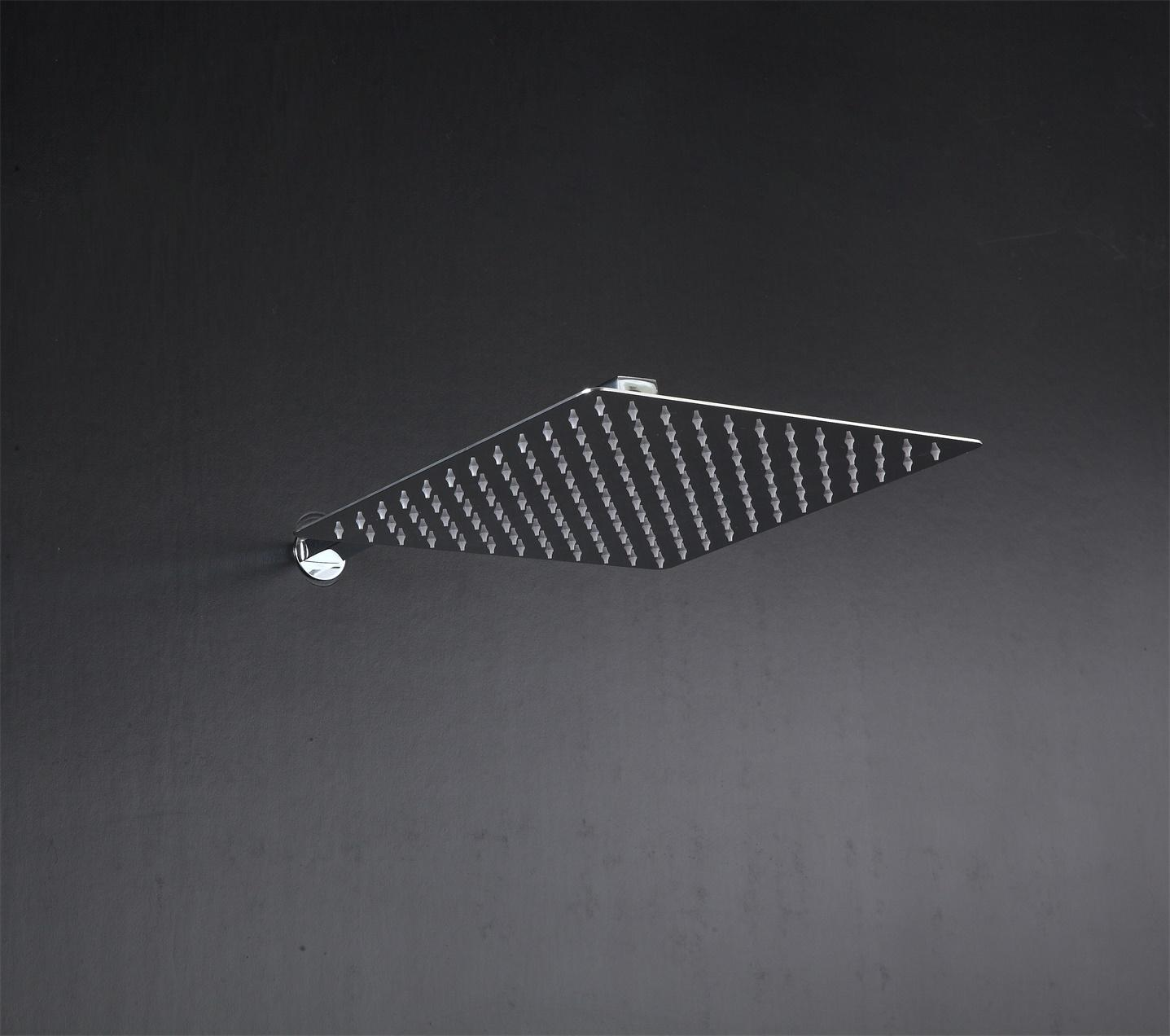 LED shower set square head 12 to 24 inches SUS304 2
