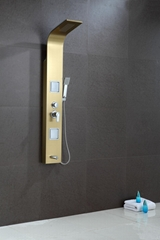SUS304 shower panel rain hand shower wall mounted shower room fitting