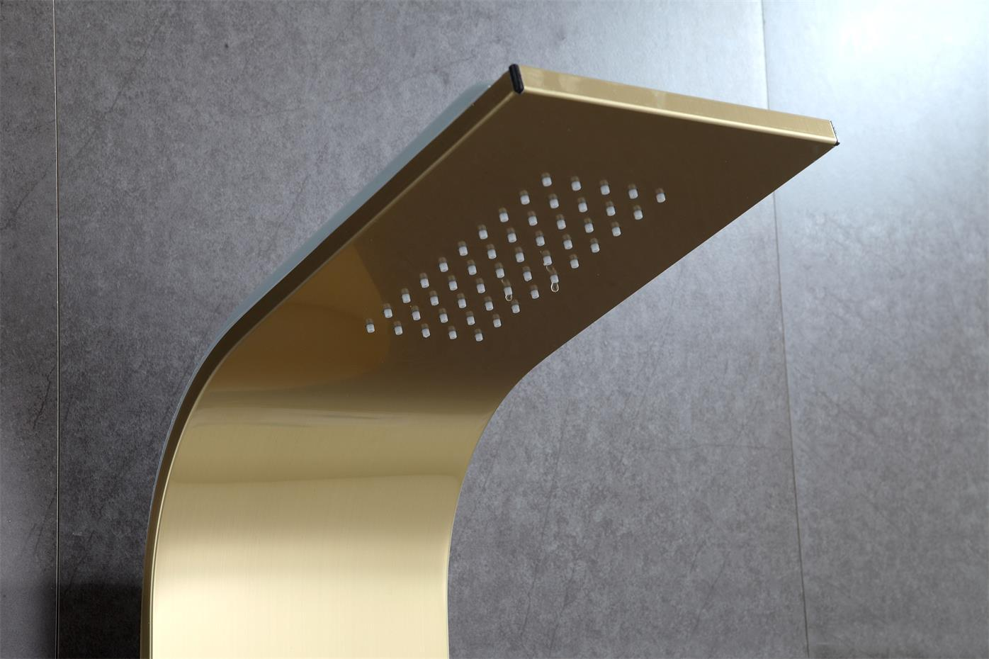 SUS304 shower panel rain hand shower wall mounted shower room fitting 3