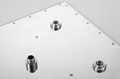 shower head set square 12 inches  SUS304 shower room fittings 2