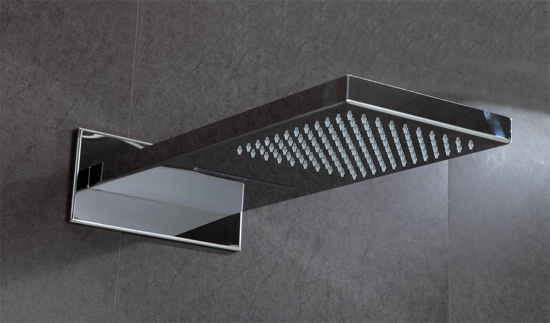 shower head set retangle SUS304 shower room fittings 1