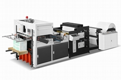 Paper cup/box/plate Printing and die cutting machine