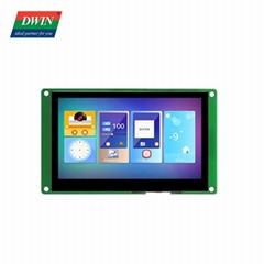 DWIN 4.3 inch touch lcd panel 800*480 HMI display UART Serial 4.3 tft lcd displa