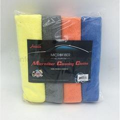16215 Microfiber Cleaning Cloths 4 Pieces SET