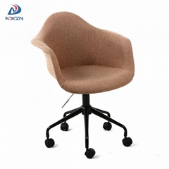 Modern adjustable swivel leisure office chair fabric with wheels for sa