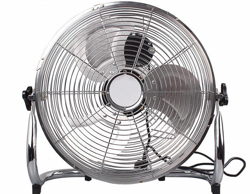 16 Inch 12V Solar DC Floor Fan 1