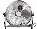16 Inch 12V Solar DC Floor Fan