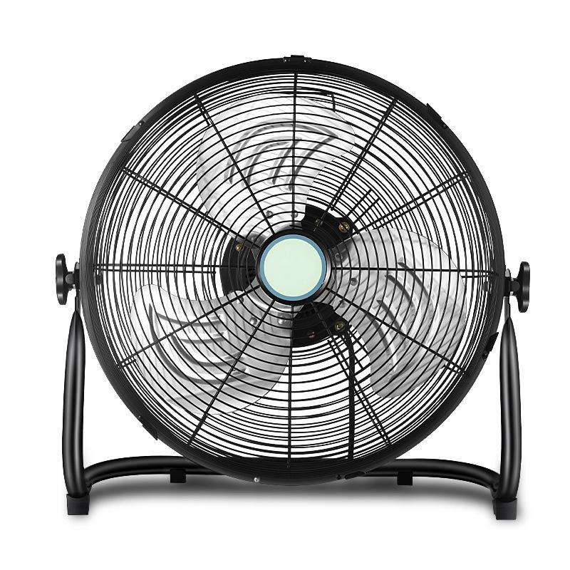 16 Inch 12V Solar DC Floor Fan 5
