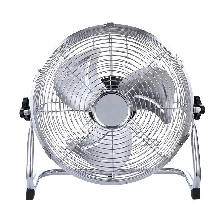 14 Inch 12V Solar DC Floor Fan 5