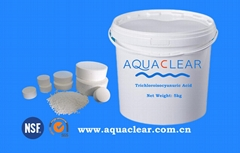 Trichloroisocyanuric Acid (TCCA) Trichlor 90% Granular Powder Tablet Factory
