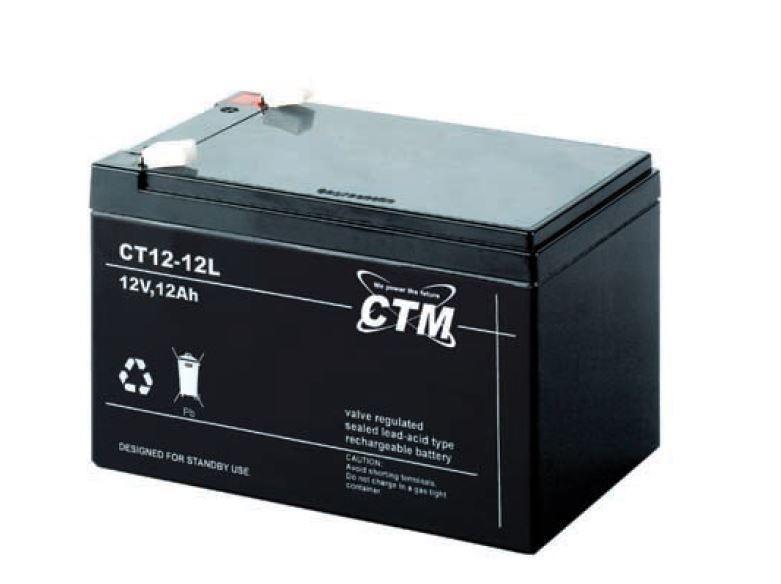德國CTM蓄電池CT20-6機房鉛酸免維護儲能應急電源 1
