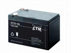 德國CTM蓄電池CT20-6機房鉛酸免維護儲能應急電源