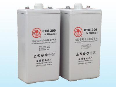 德國CTM蓄電池CT1.2-12*機房鉛酸免維護儲能應急電源 1
