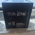 德國CTM蓄電池CT1.2-12*機房鉛酸免維護儲能應急電源 2
