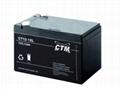 德國CTM蓄電池CT1.2-12*機房鉛酸免維護儲能應急電源 3