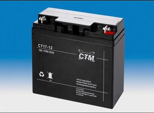德國CTM蓄電池CT7-12*進口免維護電池 2