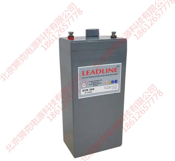 瑞士LEADLINE蓄電池EVR1280供應參數 2