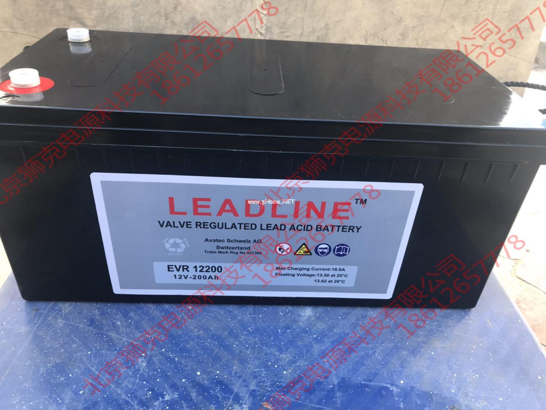 瑞士LEADLINE蓄電池EVR12100供應參數 1
