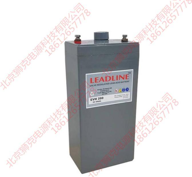 瑞士LEADLINE蓄電池EVR6110供應參數 1