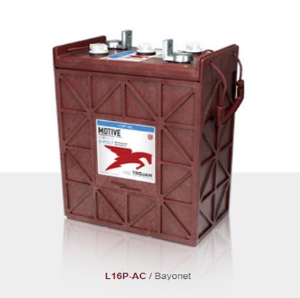 Trojan邱健蓄電池J305G-AC鉛酸動力型電池 1