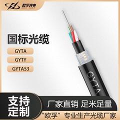 歐孚GYTA53層絞式直埋重鎧地埋4芯單模室外光纜