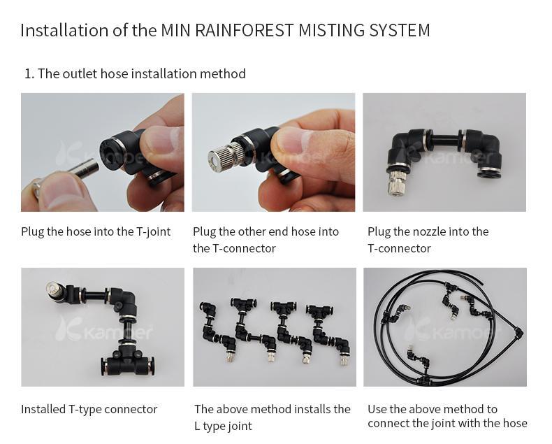 Kamoer Min Forest Nebulizer Pump Sprayer System, Water Pump 5
