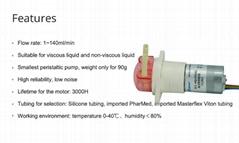Kamoer KFS Brushless Motor Imported Special Material 24v Dosing Peristaltic Pump
