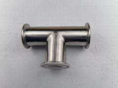 卫生级快装衬氟三通  衬氟三通 衬氟管道及配件