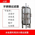 工業水處理錳砂過濾器