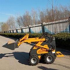 畜牧場養殖用小型滑移裝載機
