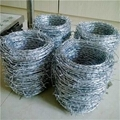 Electro Ga  anized Barbed Wire