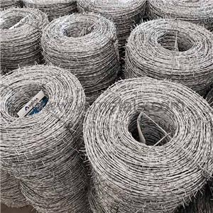 Electro Ga  anized Barbed Wire     concertina wire for sale 2
