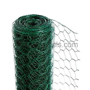 Pvc Coated Hexagonal Wire Netting    pvc coated hexagonal wire mesh