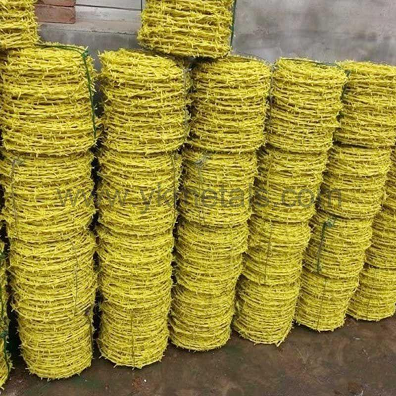 PVC Coated Barbed Wire    hot dipped ga  anized barbed wire    3