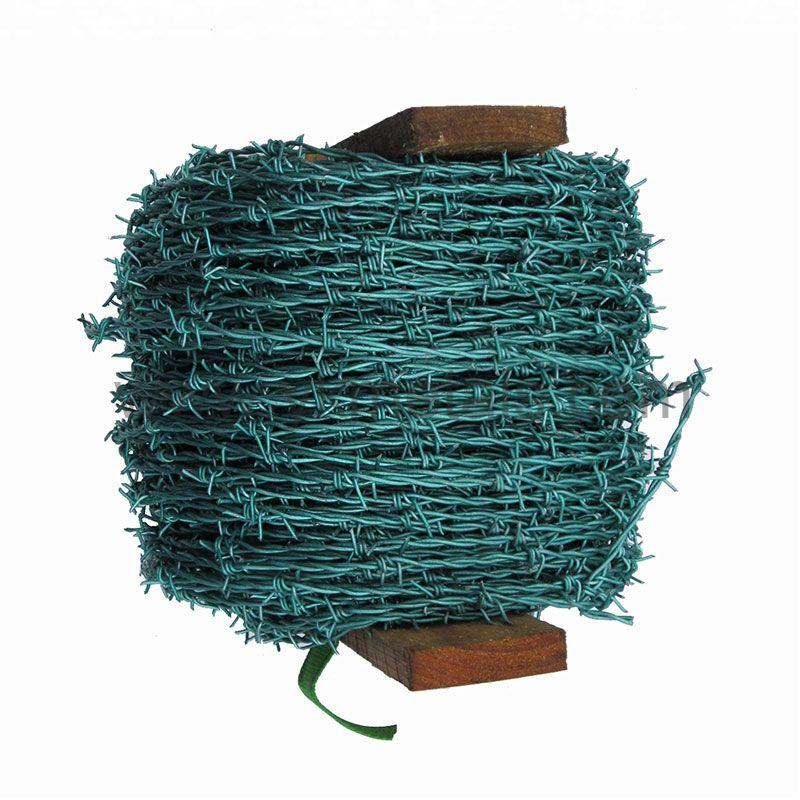 PVC Coated Barbed Wire    hot dipped ga  anized barbed wire    4