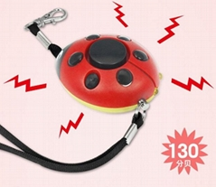 LED lighting 130db personal alarm/woman alarm/student alarm/elderly alarm