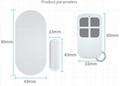 135 remote control winow door alarm/door