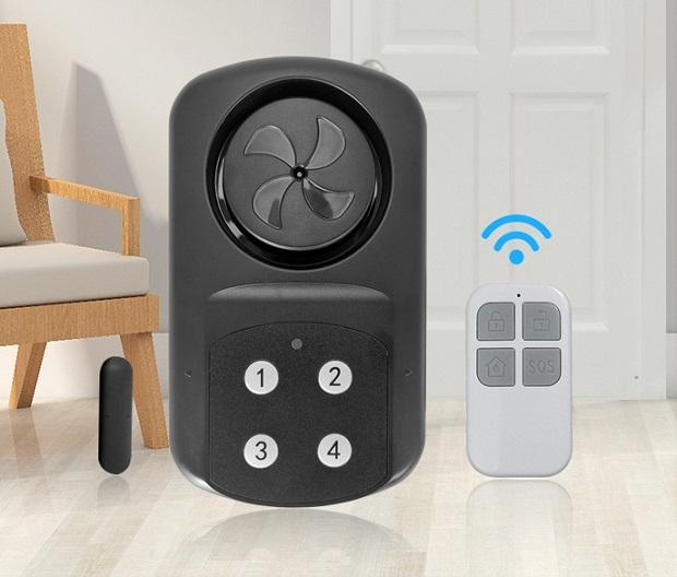 waterproof 130 winow door alarm/door bell,door sensor 1