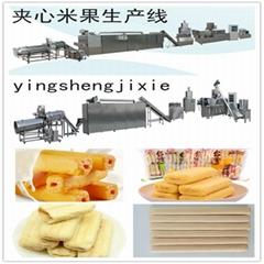 台湾夹心米饼生产线