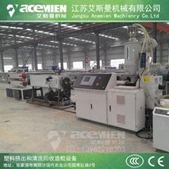 CPVC電力管材生產線 20-110 PVC排水管擠出生產設備