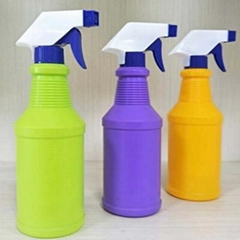 Colorful Hand PE Spray Bottle
