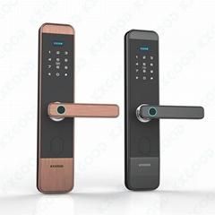 Smart digital hand finger print door lock KXG-F1